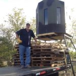 T-Box Deer Stand Delivery