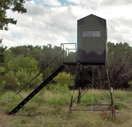tbox 4x4 porch deer stand or deer blind