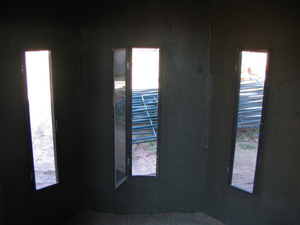 tbox deer hunting bow blind interior