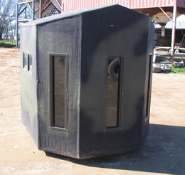 t box bow blind front
